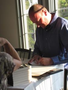Recent Author Book Signing