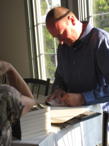 Recent Author Book Signing