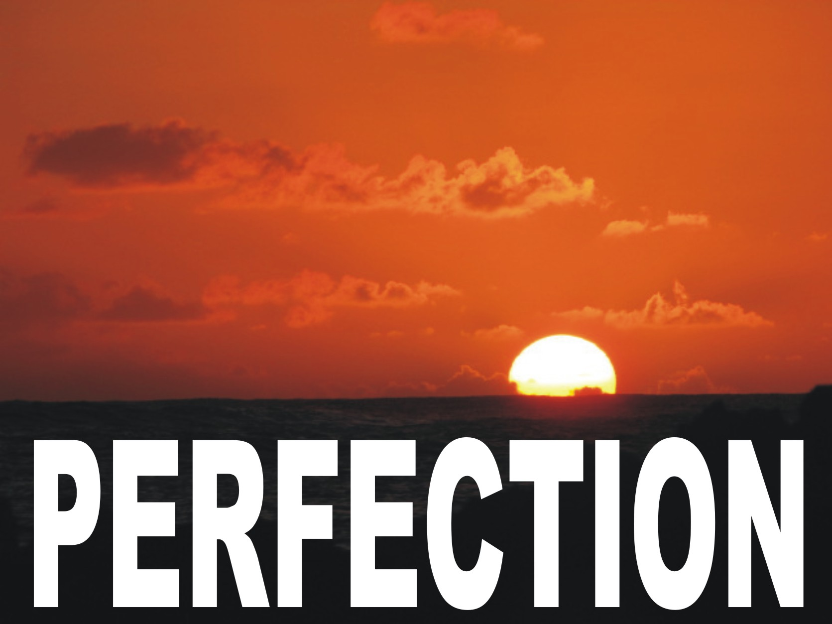 striving for perfection can often lead to suffering the